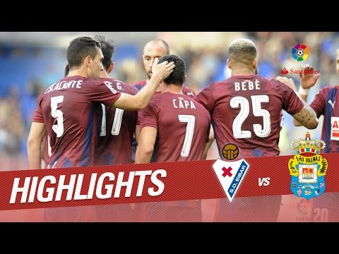 Resumen de SD Eibar vs UD Las Palmas (3-1)