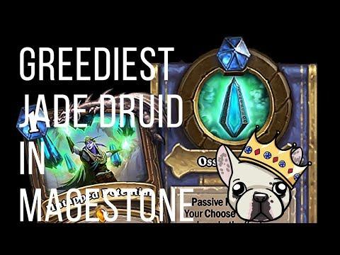 Greediest Jade Druid In Magestone   Saviors Of Uldum   Hearthstone