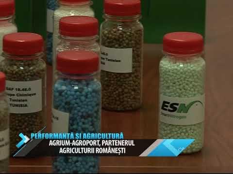 AGRIUM-AGROPORT. Performanta si Agricultura Agrium 11 iulie & 3 octombrie 2014