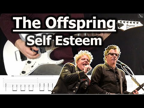 The Offspring - Self Esteem (Guitar Cover Tutorial With Tab)