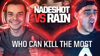 OpTic NaDeSHoT vs. FaZe Rain - WHO CAN GET MORE KILLS? (Black Ops 3)