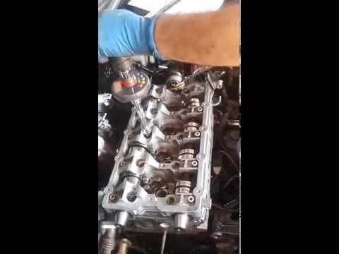 Serraggio testa golf motore BMN