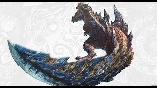 The Wolf Live PS4  Monster Hunter Iceborne huntinmg glavinus my gameplay!