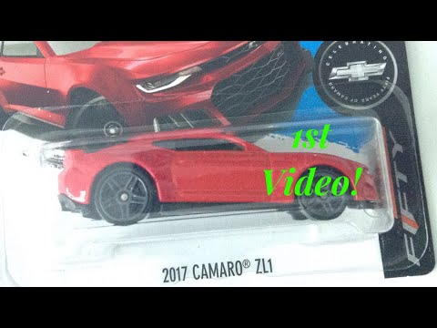 Hot Wheels 17' Camaro ZL1 (Camaro 50yrs Celebration Collection) 1/5 - TrackJakeToys