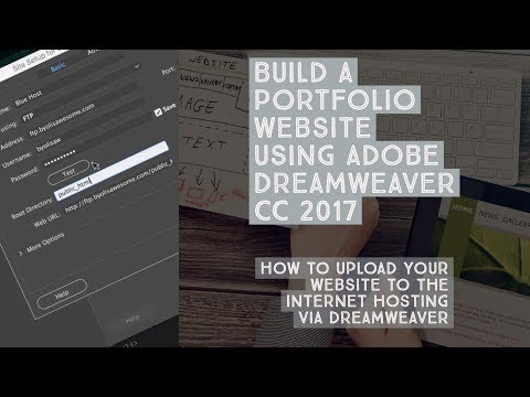How to upload your website to the internet hosting via Dreamweaver – Dreamweaver Templates [35/38]