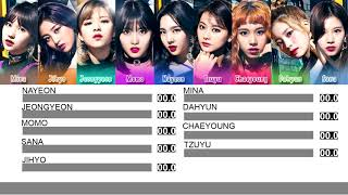 Gambar cover TWICE - BDZ (Bulldozer) (Line Distribution)