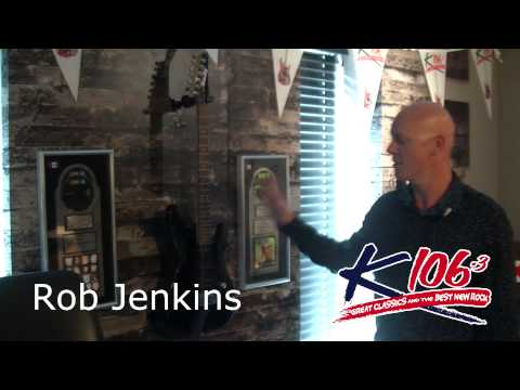 Rob Jenkins K106.3 Studio Tour
