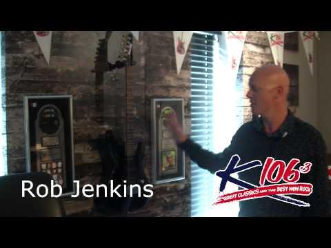 Rob Jenkins K106.3 Studio Tour