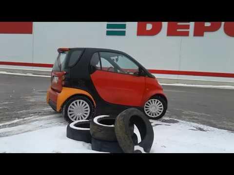 smart красный авангард серия 1 обзор тестдрайв дрифт оффроад лучший индивидуальный автомобиль