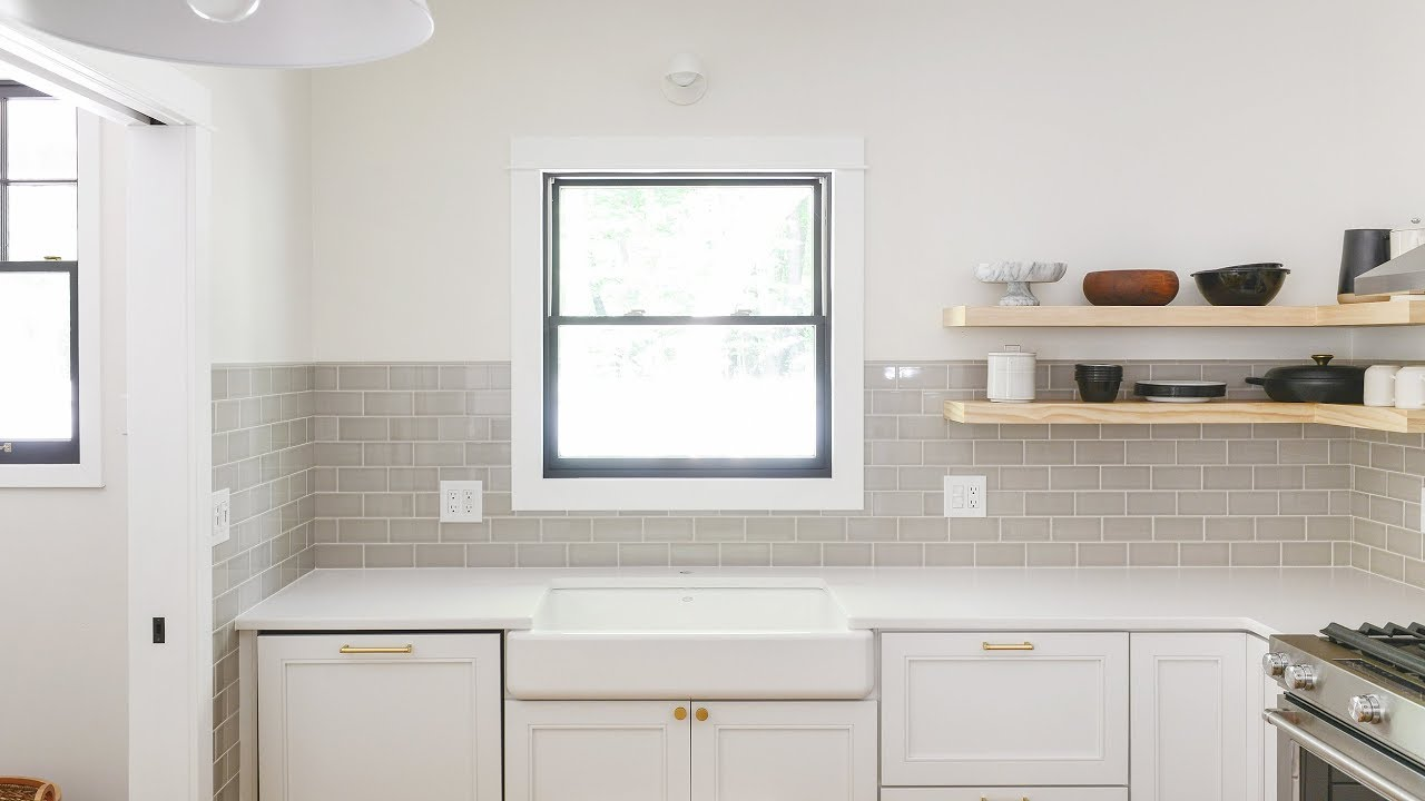 Bon How To Tile A Kitchen Backsplash (Or Any Wall, Really!)