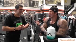 Rich Piana Training im Golds Gym Venice - Fitnessworld24.net