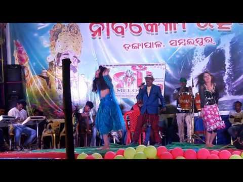 Sambalpuri orchestra krushnamukhi at DANGAPAL
