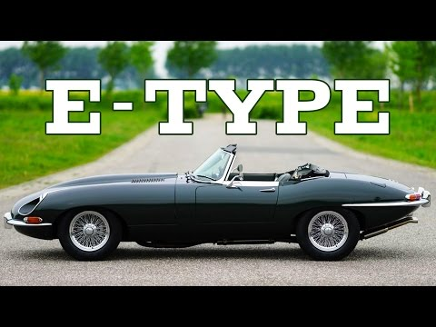 JAGUAR E-TYPE S1 3.8 Litre Convertible 1962 - Full test drive in top gear - Engine sound | SCC TV