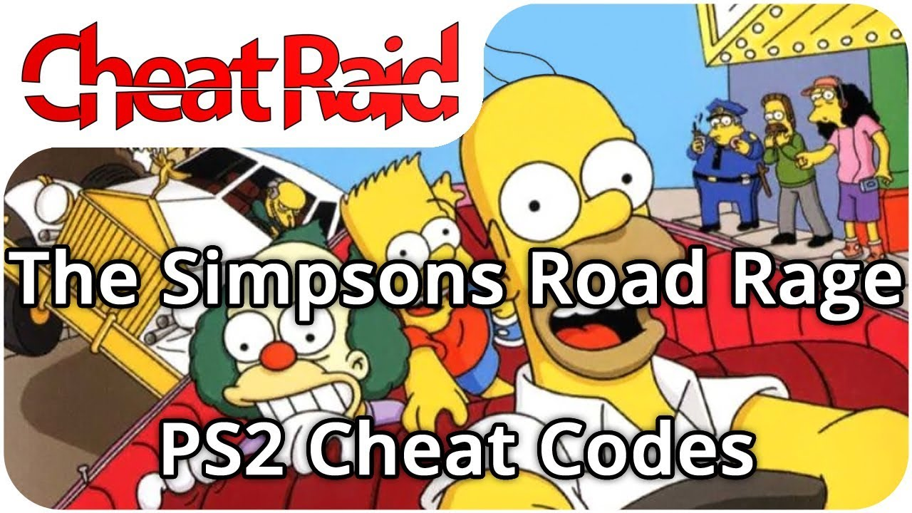 The Simpsons: Road Rage Cheat Codes   PS2