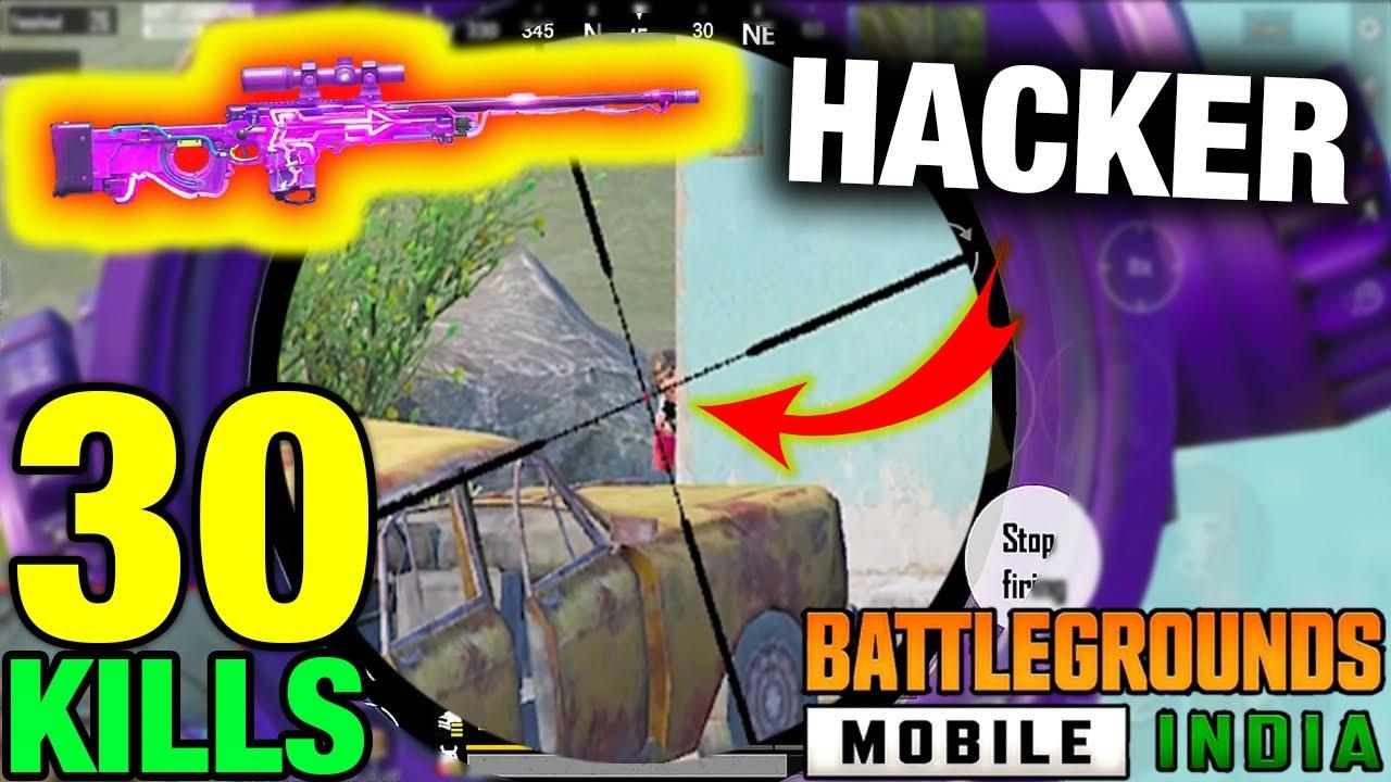 Download AWM vs HACKER | BGMI 30 KILLS SOLO vs SQUAD