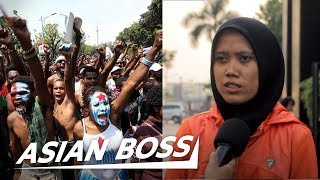 Indonesians React To Violent Protests Against Racism In West Papua \x5bStreet Interview\x5d | ASIAN BOSS