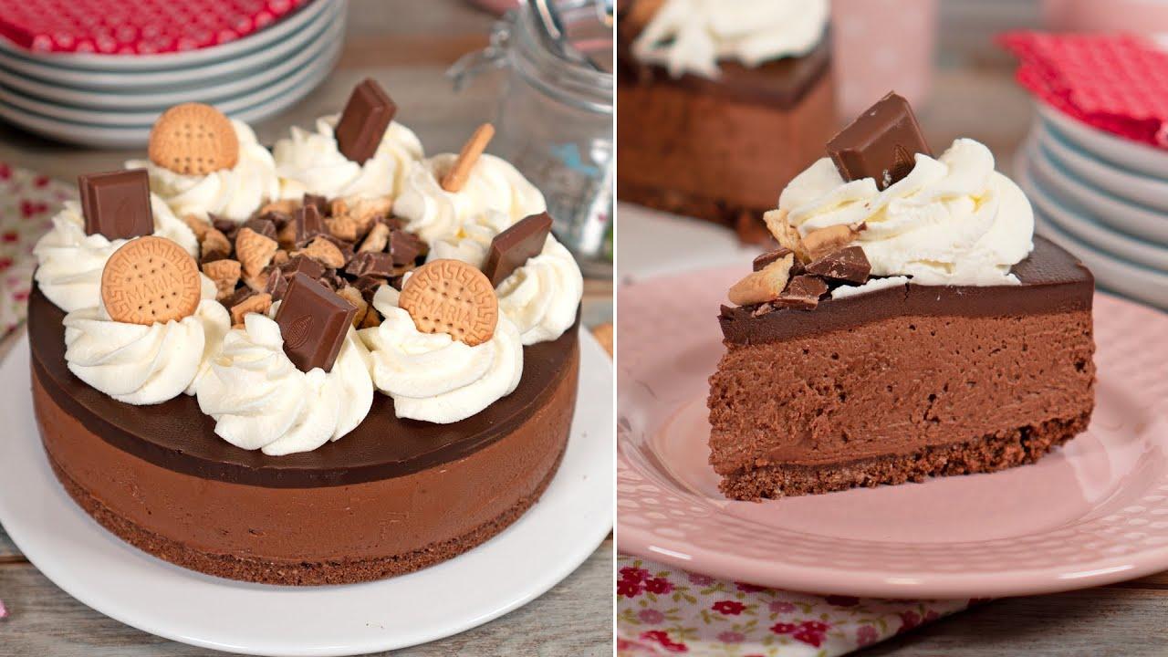 Cheesecake de Chocolate | SIN HORNO y SIN GELATINA