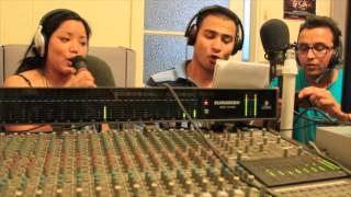 Jaga lamka chamka song | at Nepali Sanchar Radio Studio
