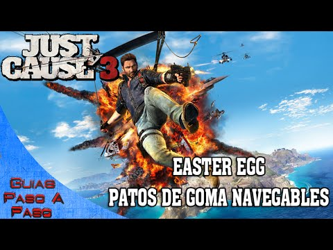 Just Cause 3 | Easter Egg: Patos de goma navegables