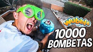 LLENAMOS una WUBBLE BUBBLE INDESTRUCTIBLE con 10.000 BOMBETAS!! *10.000 PETARD0S A LA VEZ* [Logan G]