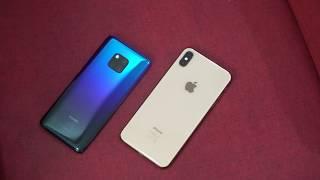 مقارنة مابين Huawei Mate 20 Pro ضد Apple iPhone XS Max:أنت عارف مين الفائز!