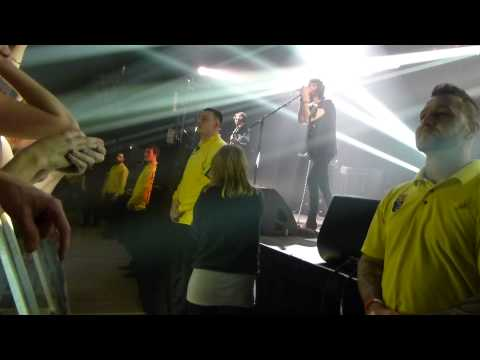 Kasabian, Take Aim (Clockwork Orange intro), Doncaster Dome, 19.03.2013