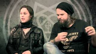 Ville and Mige HIM Interview Metal Hammer Tears On Tape Tracks 10 13