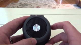 HMDX Jam XT Bluetooth Speaker for iPhones, iPads, and Android Devices