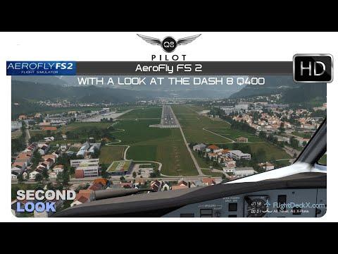 Aerofly FS 2 Flight Simulator | Dash-8 Q400 | Second Look w/Orbx Innsbruck