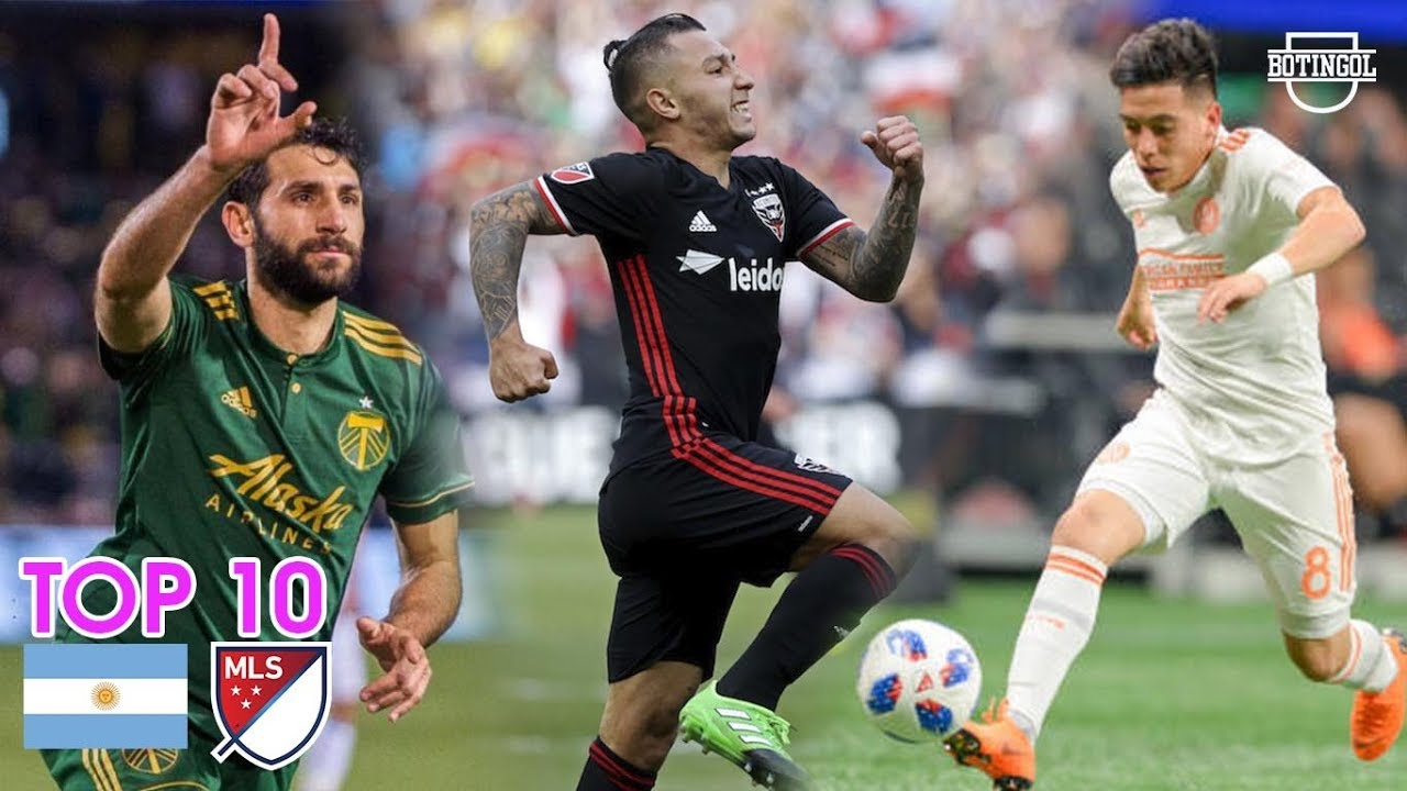 ????TOP 10: ARGENTINOS EN LA MLS (Major League Soccer)