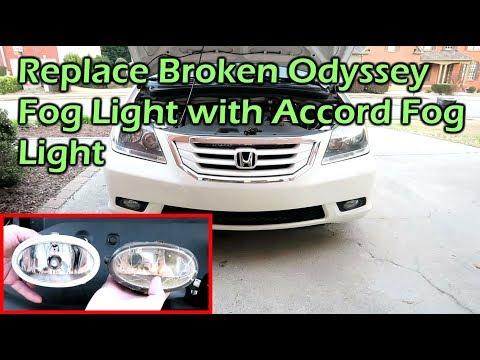 How To Replace Honda Odyssey Fog Light