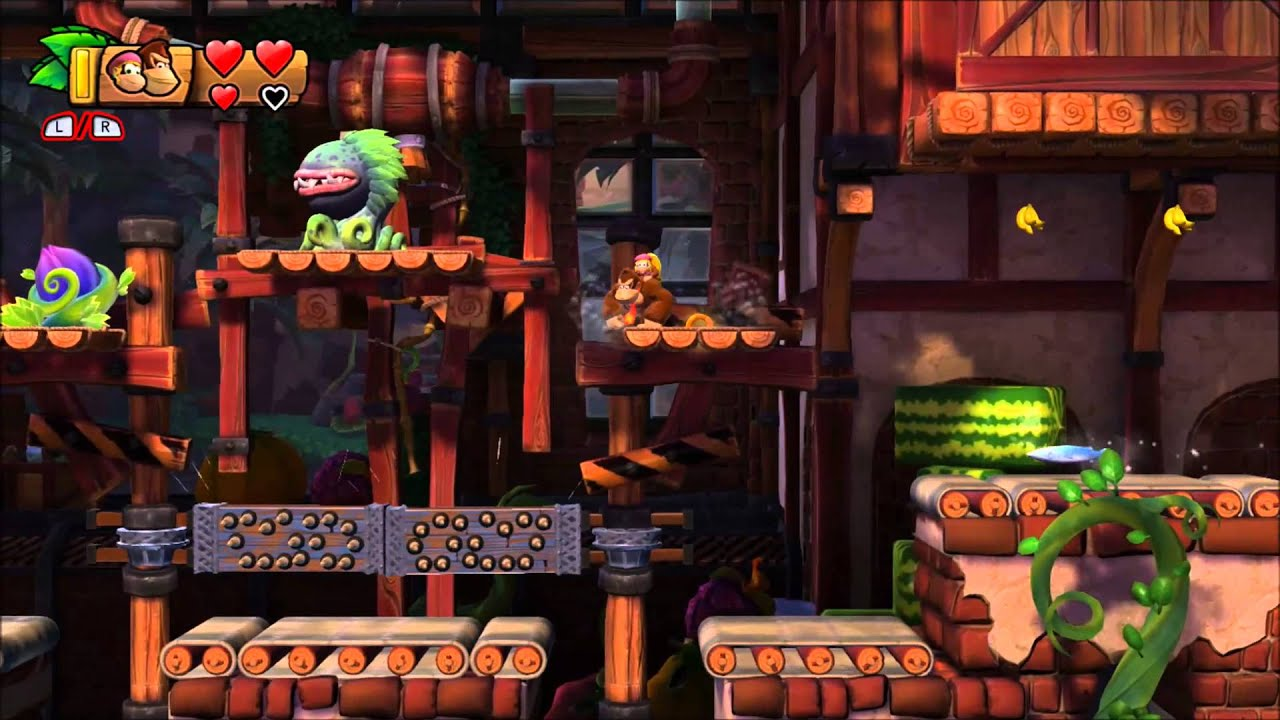 Fruit factory game - Donkey Kong Country Tropical Freeze 100 Walkthrough 5 3 Fruity Factory Puzzle And Kong