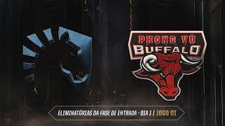 MSI 2019: Eliminatórias Fase de Entrada - Dia 1 | Team Liquid x Phong Vũ Buffalo (Jogo 1 - 06/05)