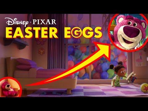 Pixar Movie Easter Eggs | Pixar Did You Know