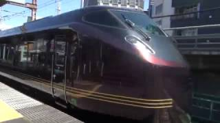 E655系和 非公式お召列車とドクターイエロー 新橋駅通過