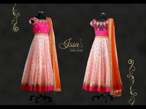 TOP Beautiful Party Wear Anarkali Dress Designs Collections 2017_Trendy floor length dress