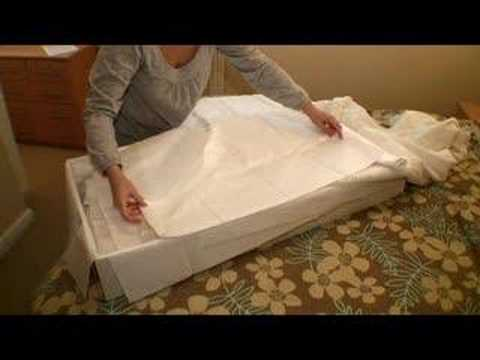 How To Store Your Wedding Dress Youtube