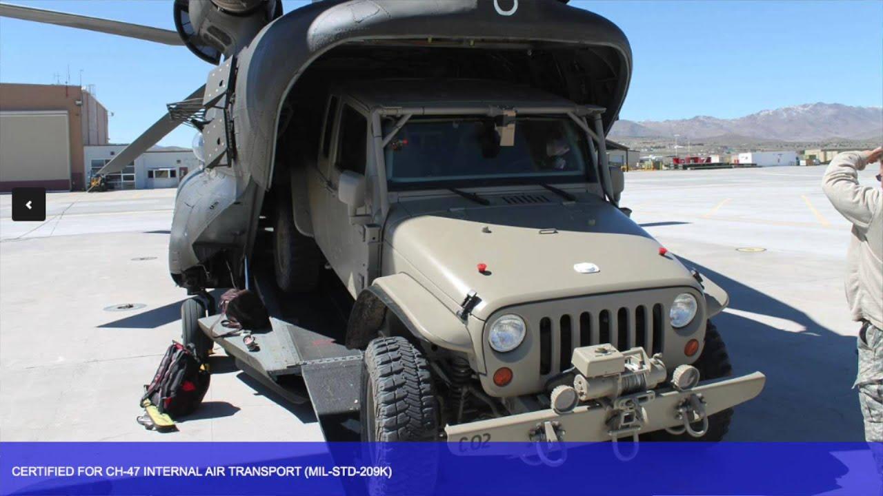 The Commando Jeep Wrangler Sema 2015 Youtube