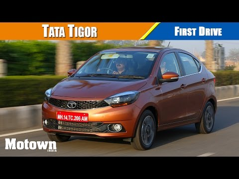 Tata Tigor First Drive