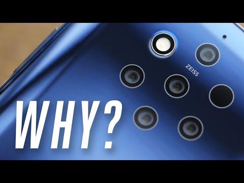 Nokia 9 hands-on: too many cameras?