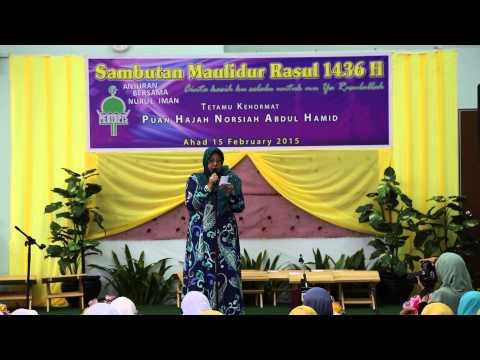 Maulidul Rasul 1436H di PERTAPIS, Singapore   15:02:2015