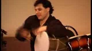 Игра  на  барабанах. Кавказ
