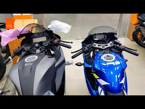 Yamaha R15 ABS VS Suzuki GSX-R 150 ABS @HD Videos