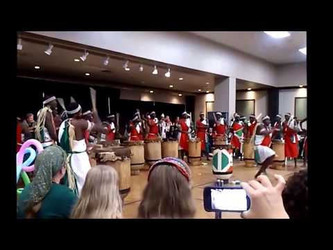 Burundi Drummers 2014