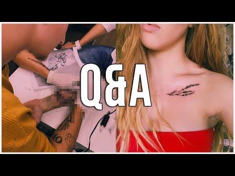 Q&A // První tetování??