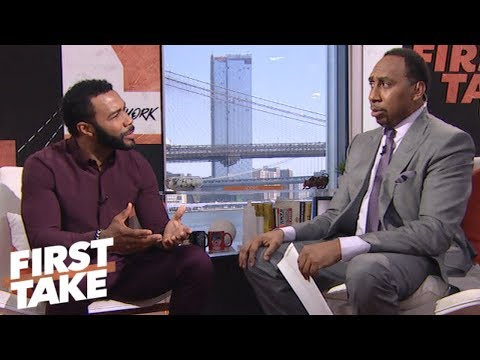 Stephen A. and Omari Hardwick talk 'Power' and Georgia football  First Take  ESPN
