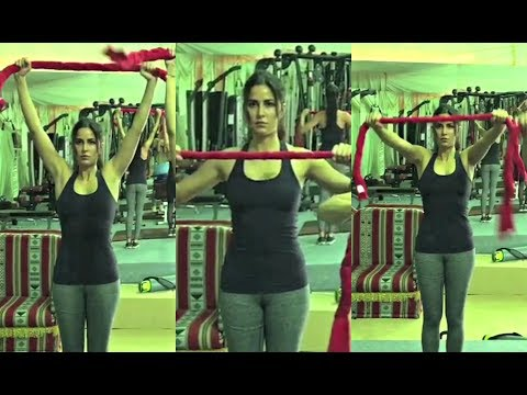 Katrina Kaif Hot Workout Video In Gym