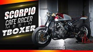 Scorpio Cafe Racer Mesin T-Boxer