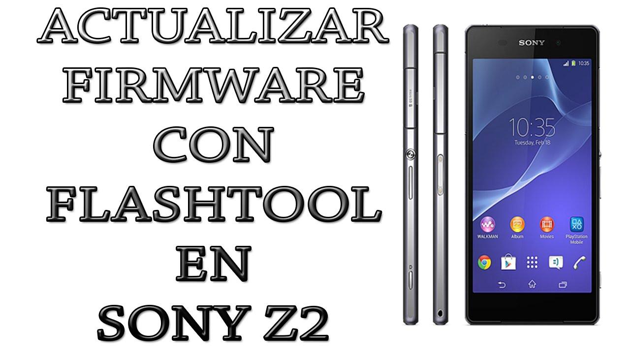 Actualizar Firmware Sony Xperia Z2 con Flashtool