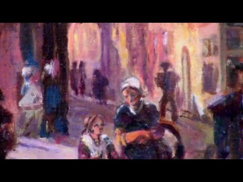 "Копия Cornelis Springer ""Haarlem summer""1867"